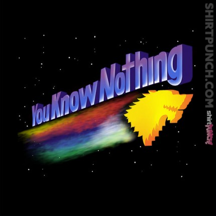 ShirtPunch: You Know Nothing