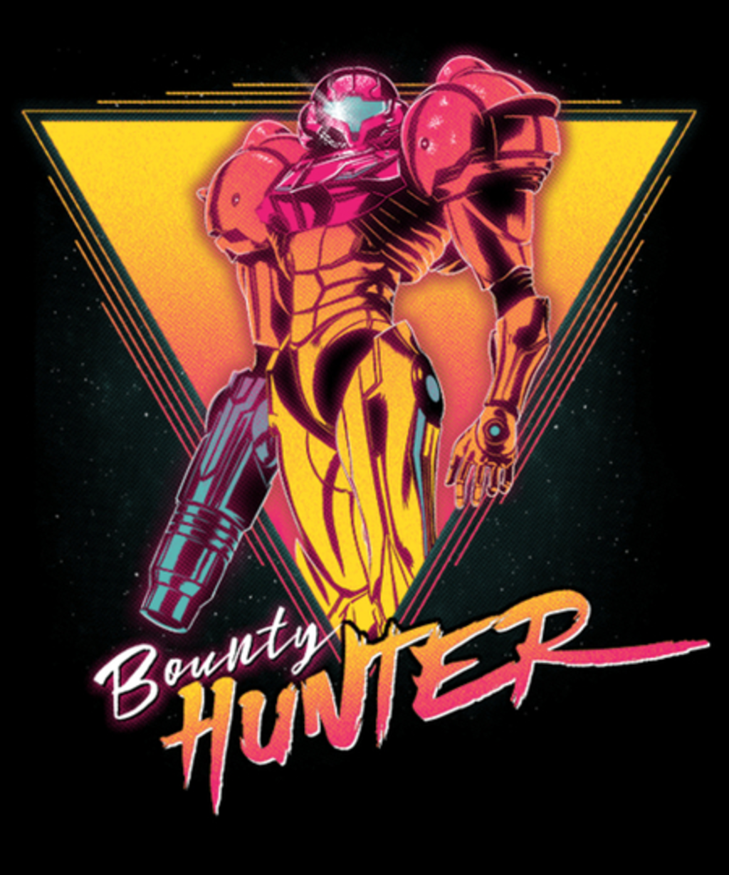 Qwertee: Space Bounty Hunter