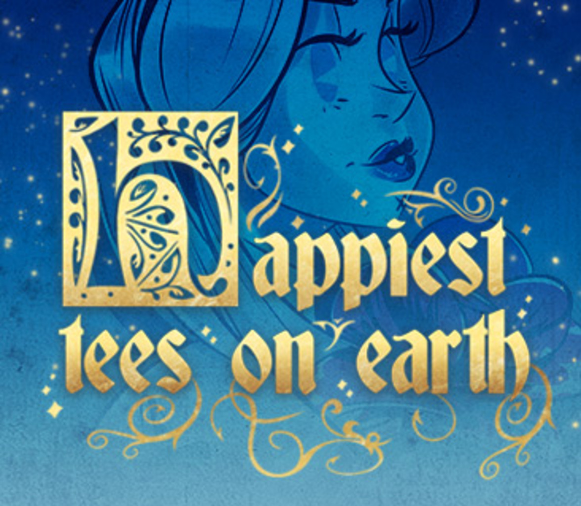 TeeFury: Happiest Tees on Earth Collection