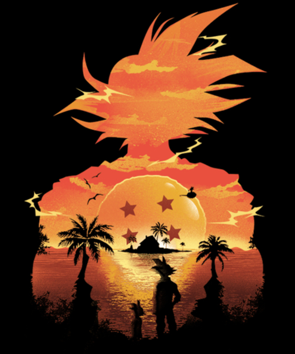 Qwertee: Beautiful Sunset