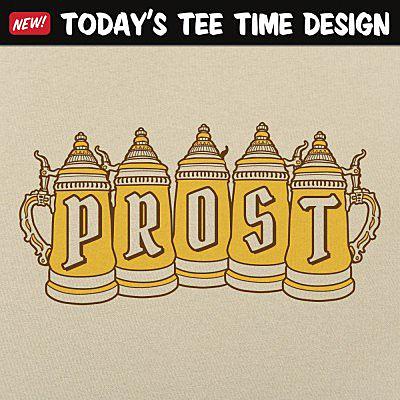 6 Dollar Shirts: Prost Steins