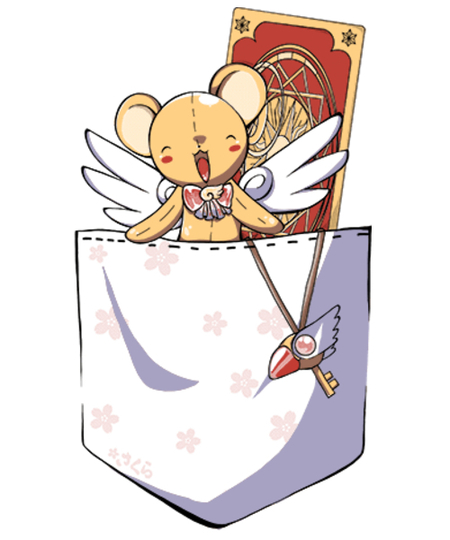 Qwertee: Kero-chan in your pocket