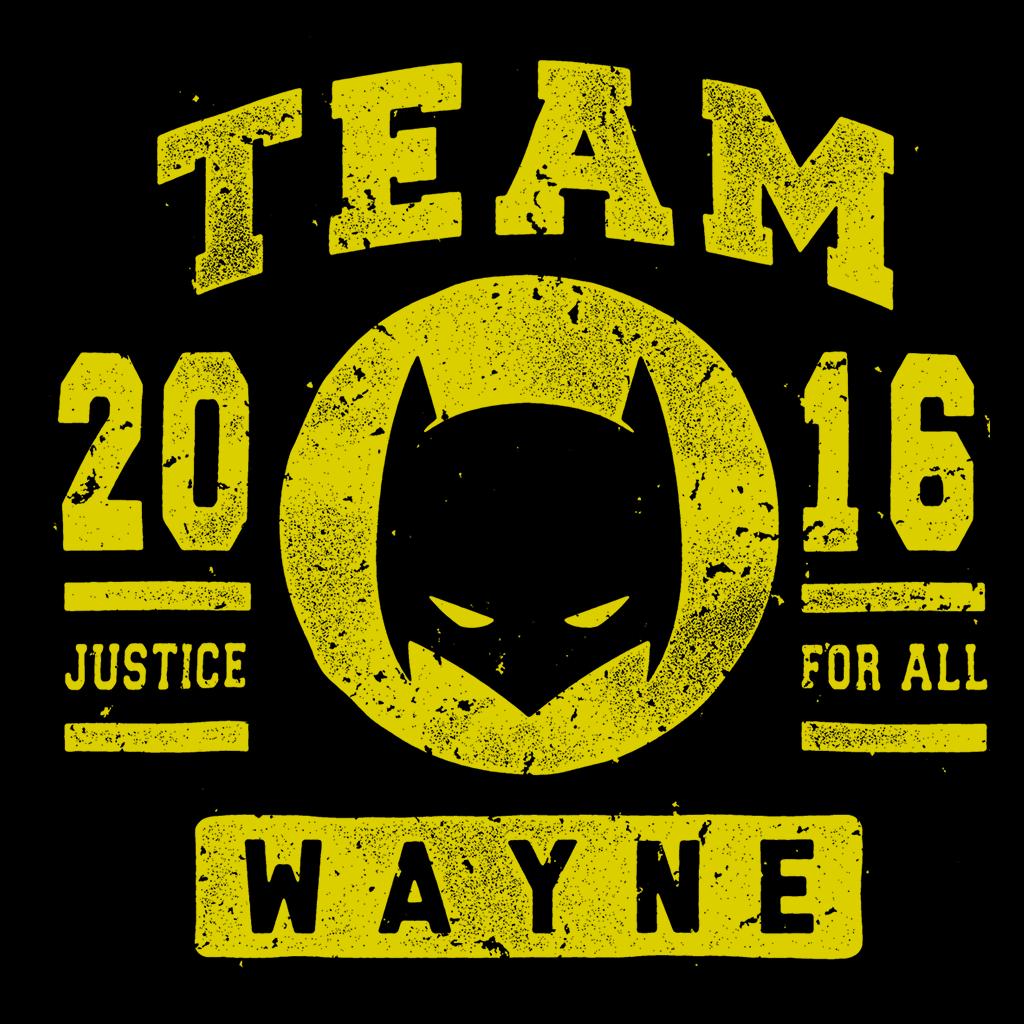 Pop-Up Tee: Team Wayne