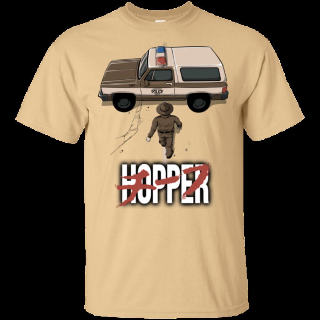 Pop-Up Tee: Chief Hopper