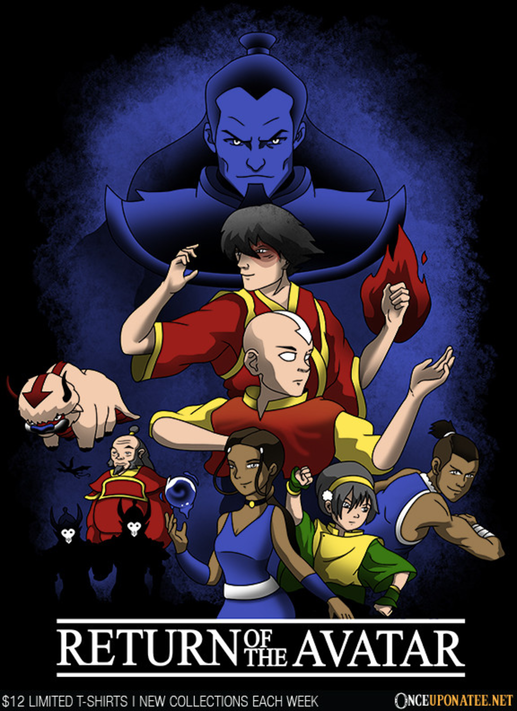 Once Upon a Tee: Return of the Avatar