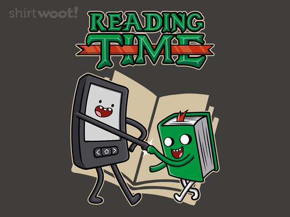 Woot!: Reading Time