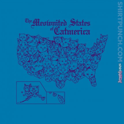 ShirtPunch: The Meownited States of Catmerica