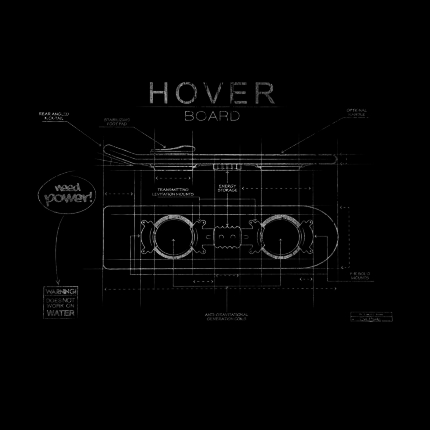 ShirtPunch: Hover Board Blueprint