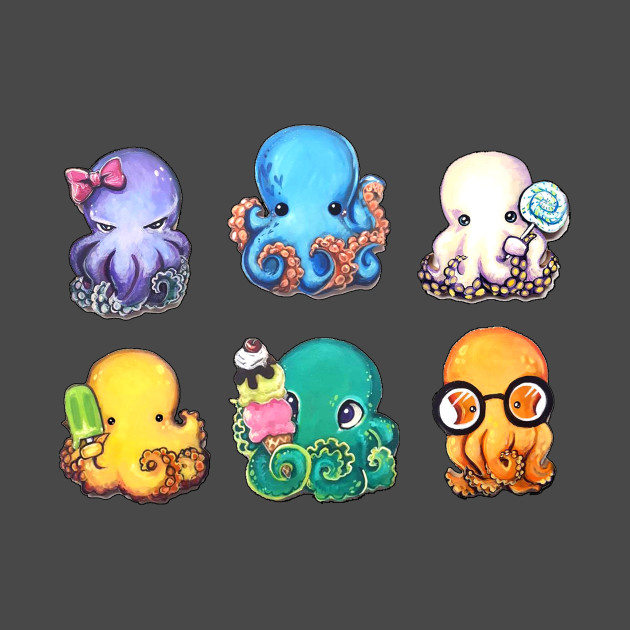 TeePublic: Octo-Puffs