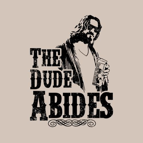 Five Finger Tees: The Dude Abides T-Shirt