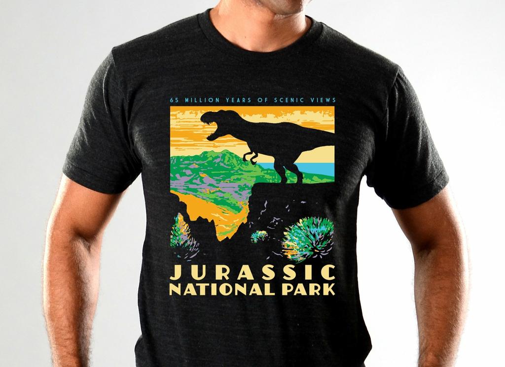 SnorgTees: Jurassic National Park Limited Edition Tri-Blend