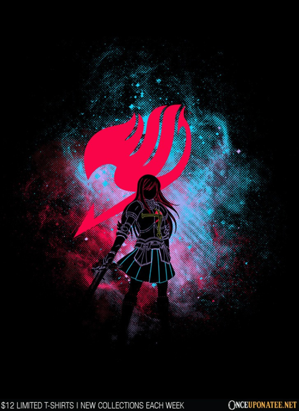 Once Upon a Tee: Erza Art