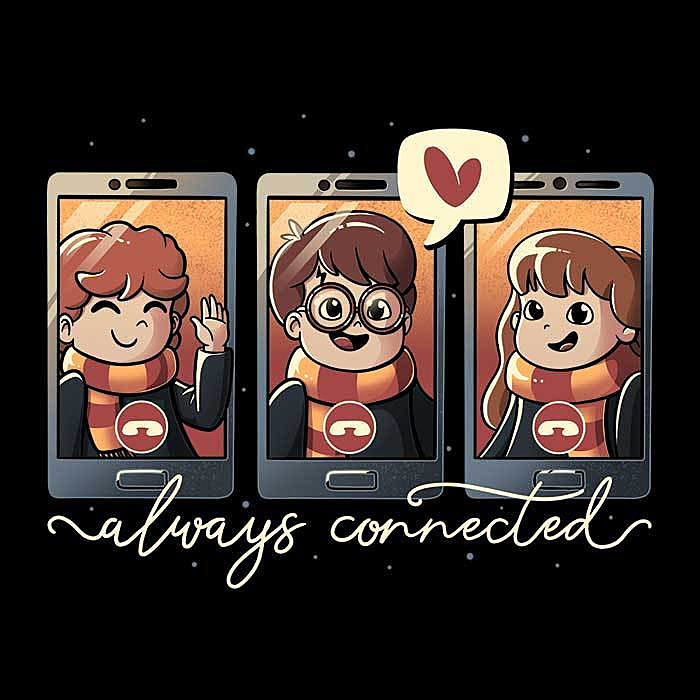 Once Upon a Tee: Wizards Connected