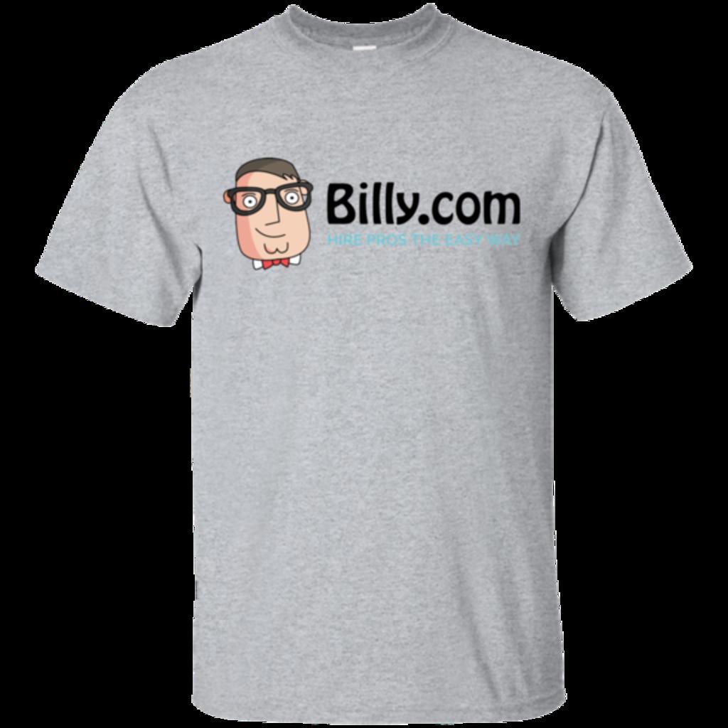Pop-Up Tee: Billy.com Gildan Ultra Cotton