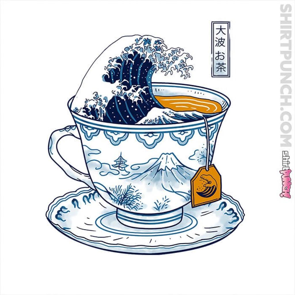 ShirtPunch: The Great Kanagawa Tea