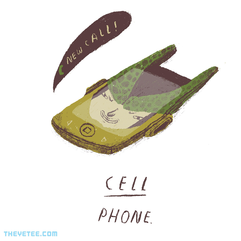 The Yetee: cell phone