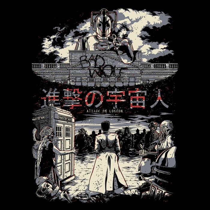 Once Upon a Tee: Attack on London