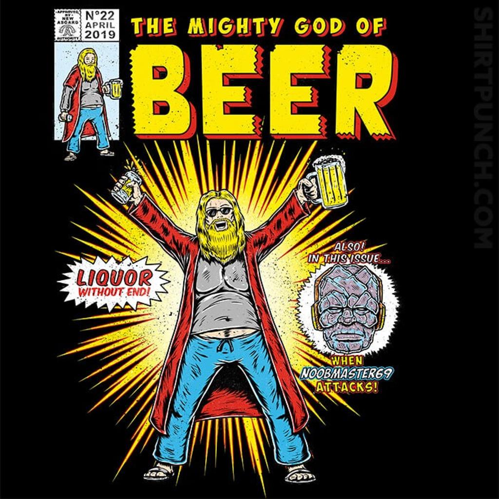 ShirtPunch: God Of Beer