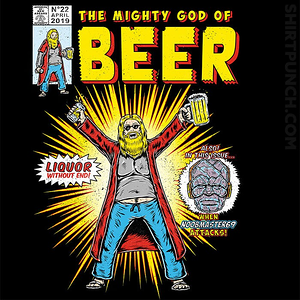 ShirtPunch: God Of Beer