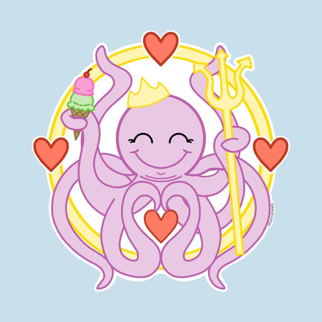 TeePublic: octo icecream