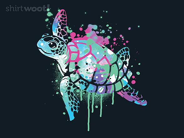Woot!: Fluo Sea Turtle
