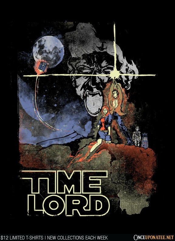 Once Upon a Tee: Time Lord