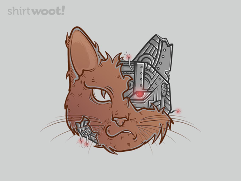 Woot!: The PURRminator T-Shirt