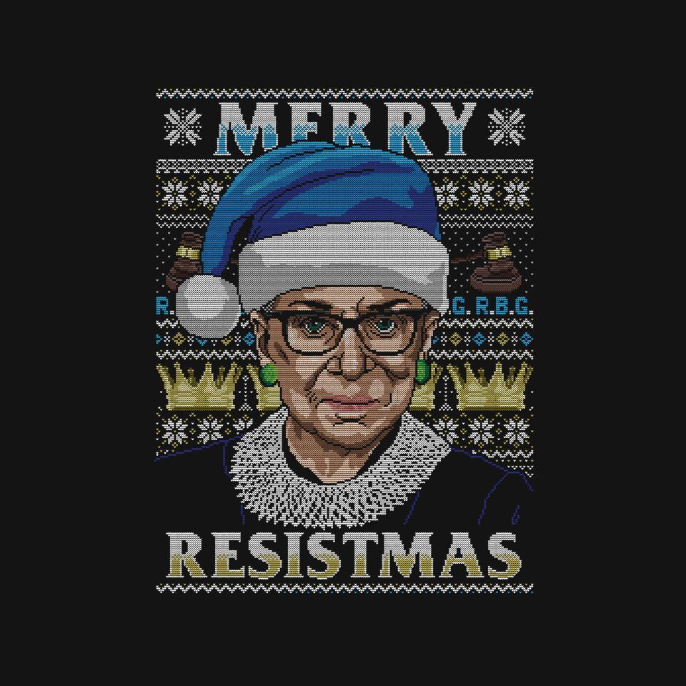 TeeFury: Merry Resistmas