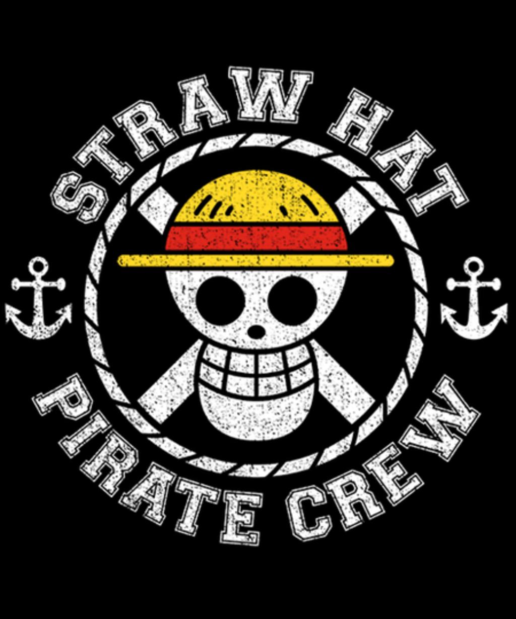 Qwertee: Straw Hat Gang