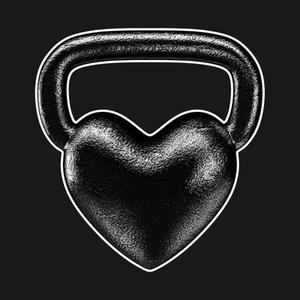TeePublic: Kettlebell Heart
