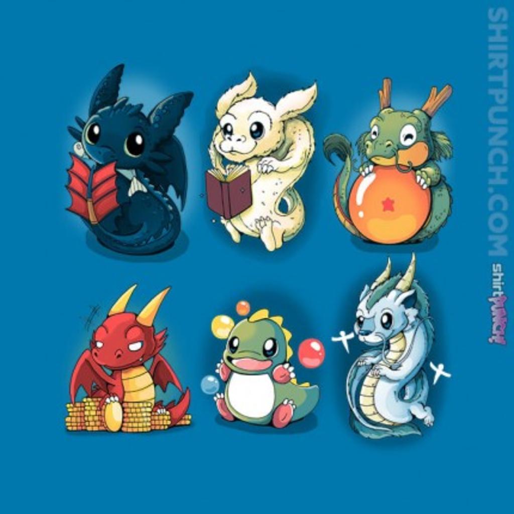 ShirtPunch: Nerd Dragons