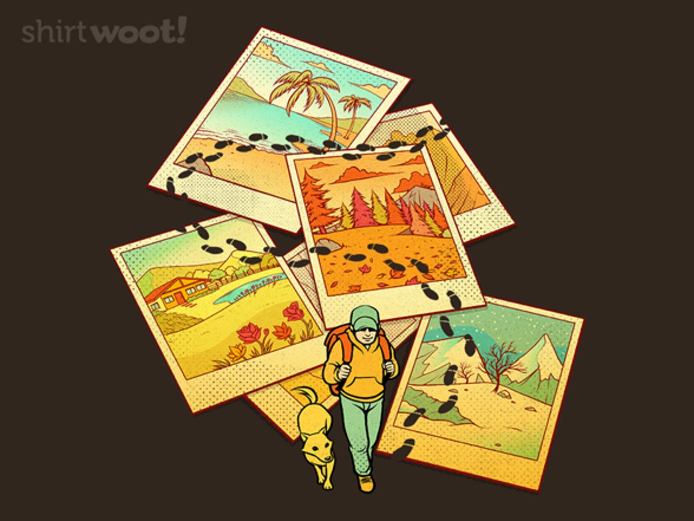 Woot!: Wanderlust Polaroid