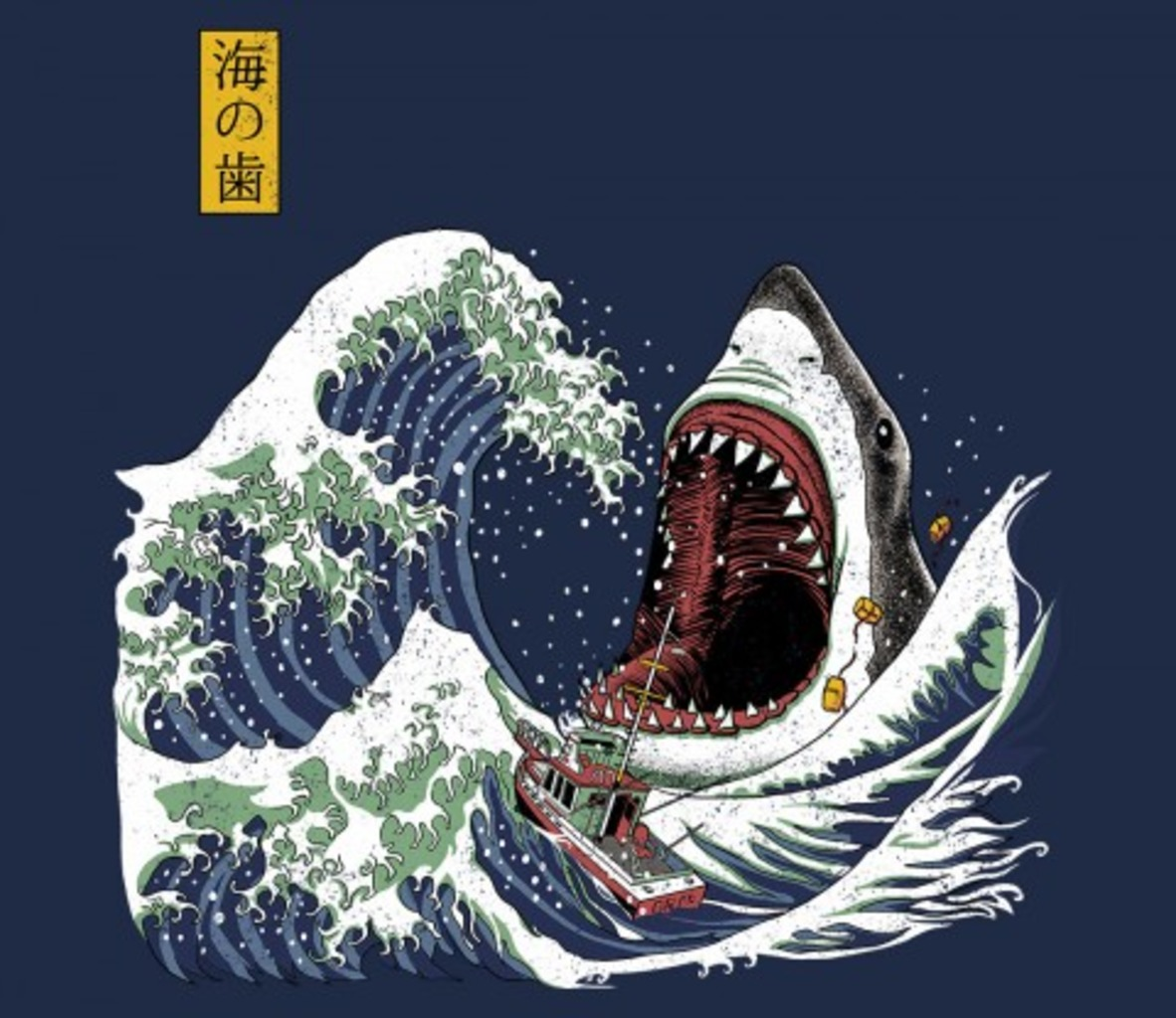 TeeFury: Great White off Amity