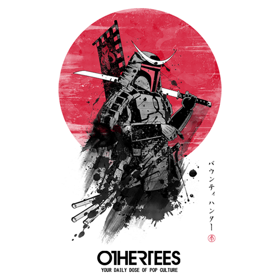 OtherTees: Mandalorian Samurai