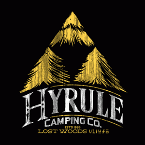 BustedTees: Hyrule Camping Company