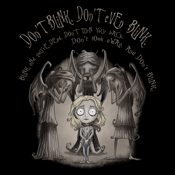 Pop-Up Tee: Don't Blink