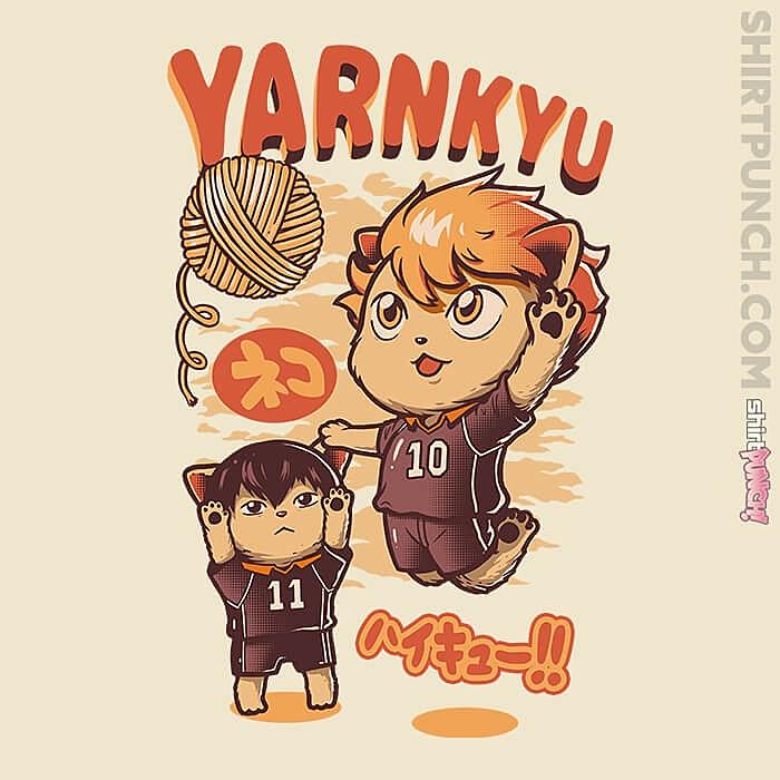 ShirtPunch: Yarnkyu