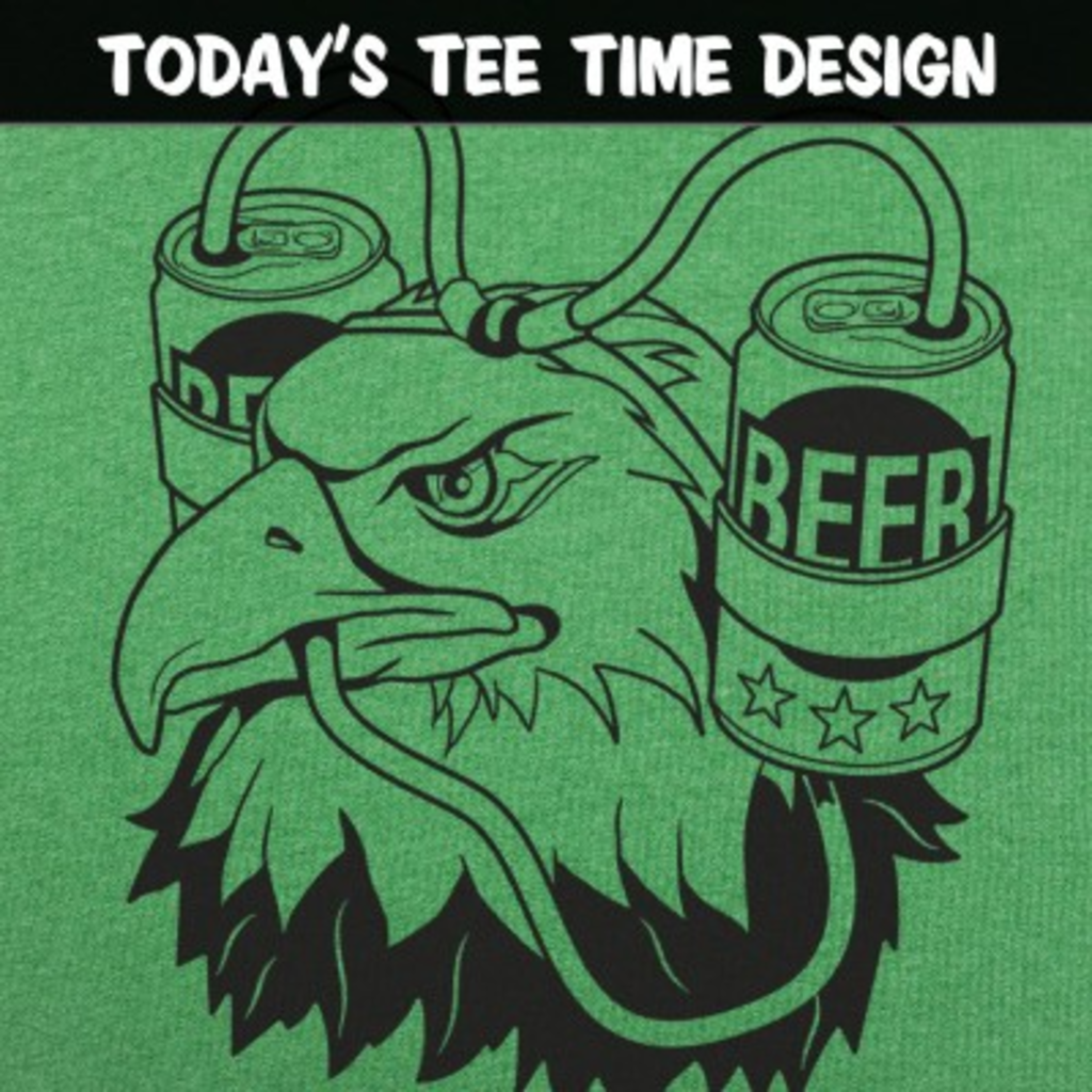 6 Dollar Shirts: Beer Eagle