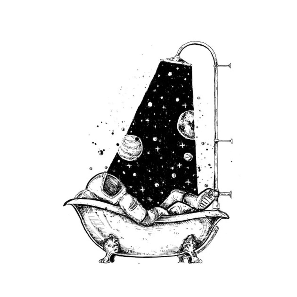 TeePublic: astronaut