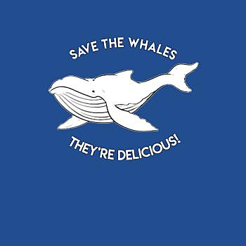 BustedTees: Save the Whales
