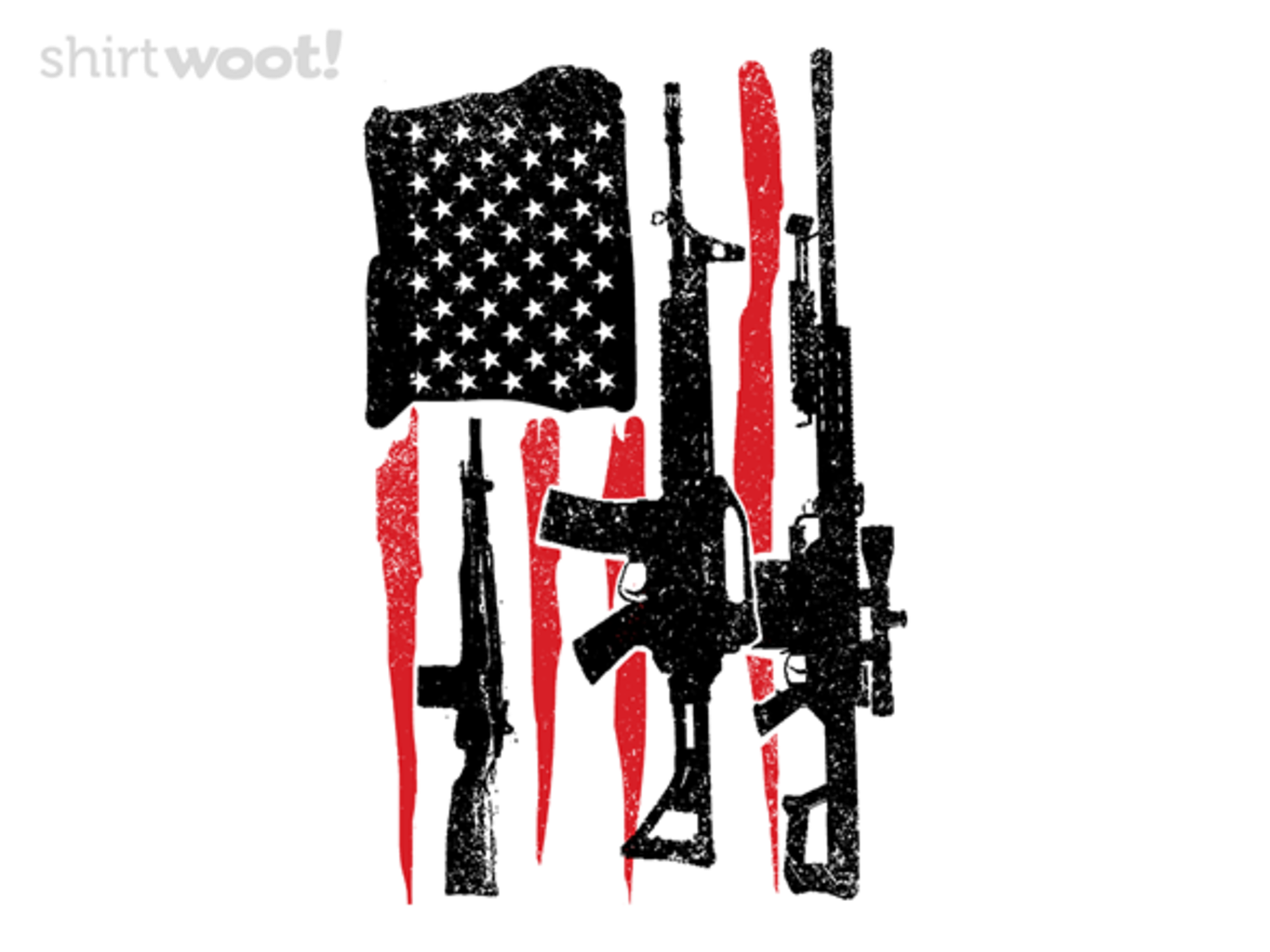 Woot!: American Hero Flag
