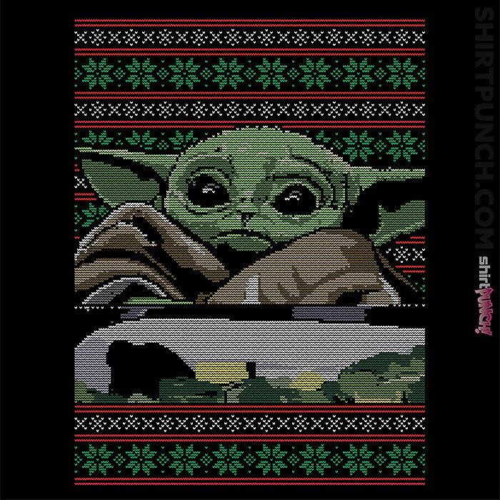 ShirtPunch: Baby Yoda Ugly Sweater