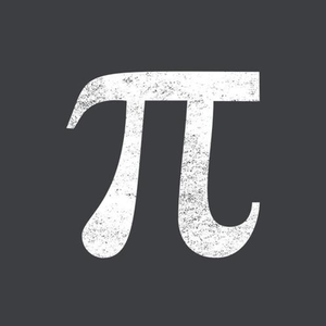 Five Finger Tees: Pi Symbol T-Shirt