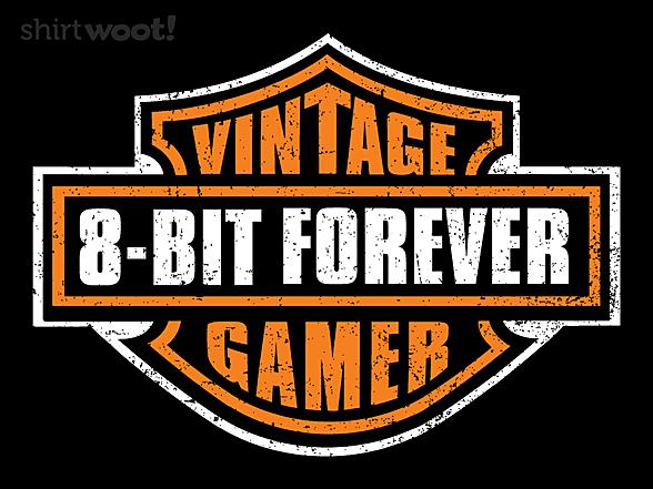 Woot!: Vintage 8-bit Gamer