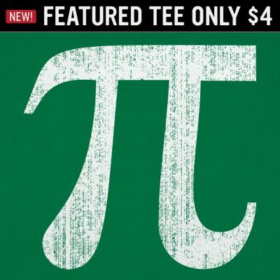 6 Dollar Shirts: Pi Symbol
