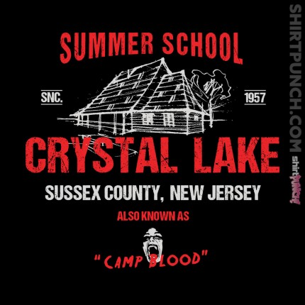 ShirtPunch: Crystal Lake Summer School