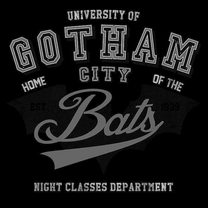 We Heart Geeks: Gotham University - Men's T-Shirt