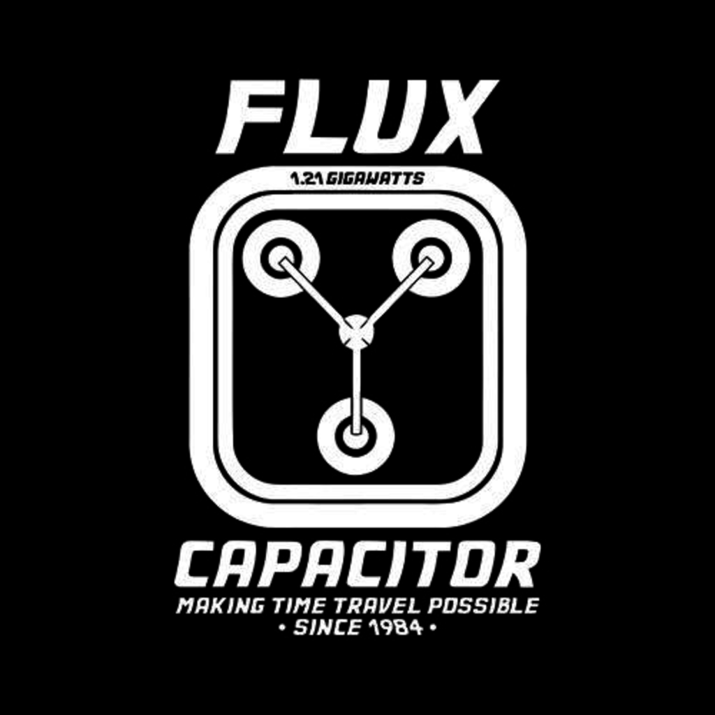 Five Finger Tees: Flux Capacitor T-Shirt
