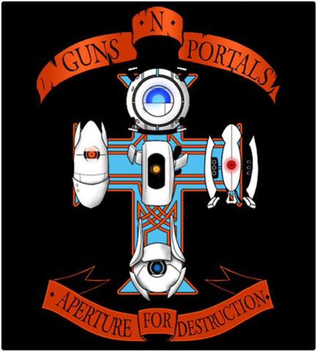 Shirt Battle: Guns N Portals