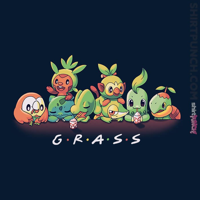ShirtPunch: Grass Friends